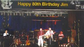 Jim  Marshall choose Dec's band to perform for his 80th birthday